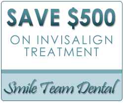 Save $500 On Invisalign Treatment