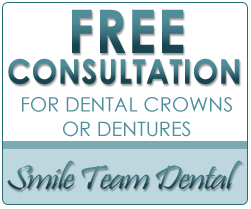 Free Consultation For Dental Crowns Or Dentures